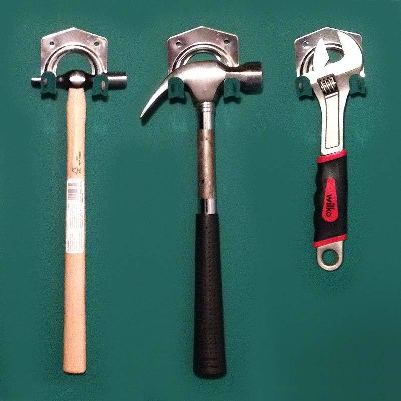 20 storage wall hooks workshop tool garden shed garage