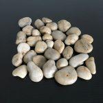 Beige Natural Stones Decorative Pebbles Rocks