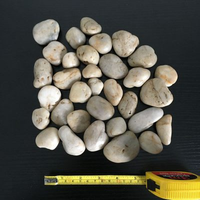 Beige Natural Stones Decorative Pebbles