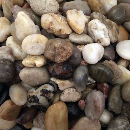 Assorted Browns Natural Stones Decorative Pebbles Rocks