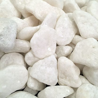 White Natural Stones Decorative Pebbles Rocks