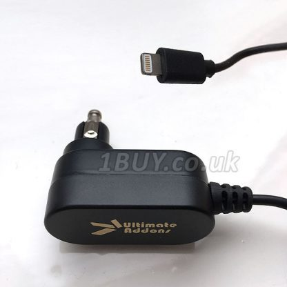 UltimateAddons Motorcycle 2 Amp DIN Hella to Apple Lightning