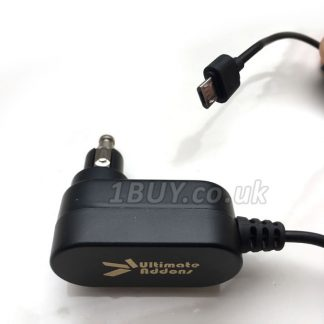 UltimateAddons Motorcycle 2 Amp DIN Hella to Micro USB