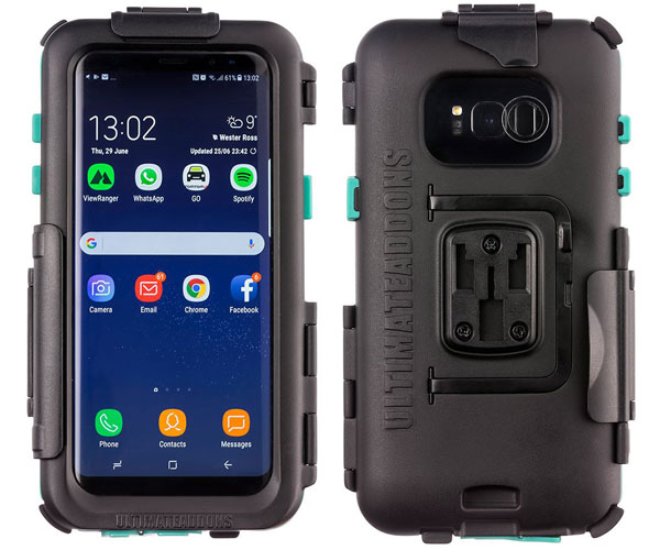 promo code bbb4a 66b68 Samsung Galaxy S9 Plus - Waterproof Tough UltimateAddons Case Phone Holder