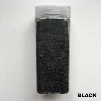 small black decorative stones