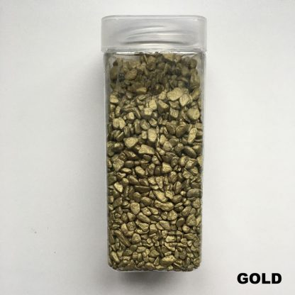 gold decorative stones