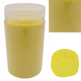 Yellow Decorative Sand / Vase Fillers / Arts & Craft