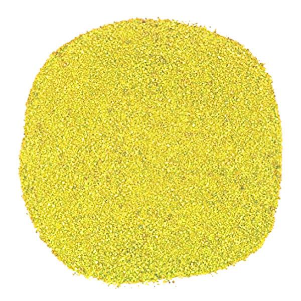 Yellow Decorative Sand Wedding Vase Craft Pot Decoration Art Coloured