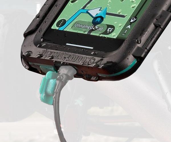 the latest e5601 b7b5e Apple iPhone X - Waterproof Tough UltimateAddons Case Phone Holder