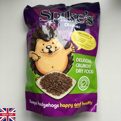 Spikes Dinner Quality Dry Crunchy Hedgehog Food Hog 650g front