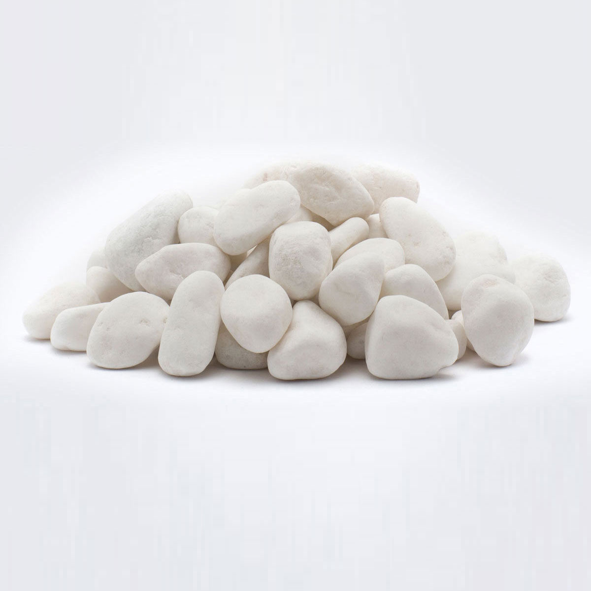 1kg Large White Natural Stones Vases Craft Pebbles