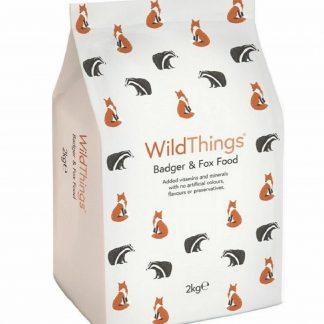 Badger and Fox Food 2kg - WildThings Biscuits WildLife Feed & Treats Foods
