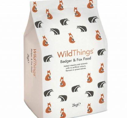 Badger and Fox Food 2kg - WildThings Biscuits WildLife Feed & Treats Foods