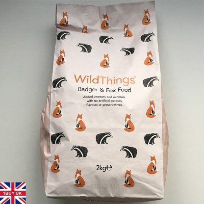 WildThings Badger & Fox Food 2Kg Feed - Front