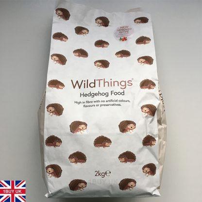 WildThings Hedgehog Food 2kg Feed - Front