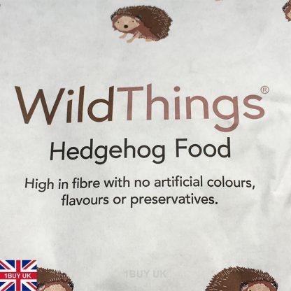 WildThings Hedgehog Food 2kg Feed - Front Logo