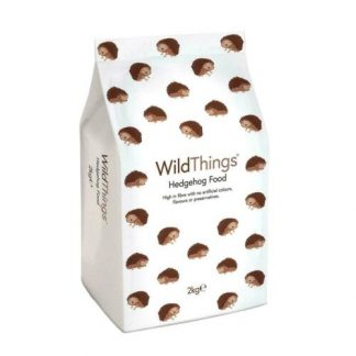 WildThings Hedgehog Food Dry Healthy Snack Treat Mealworms Vitamins 2kg